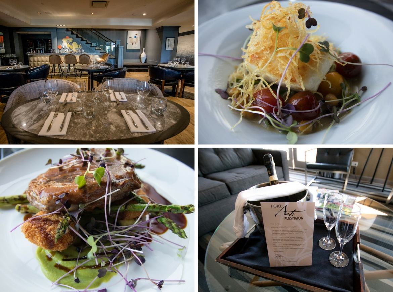 Oxbow restaurant at Hotel Arts Kensington in Calgary, Alberta