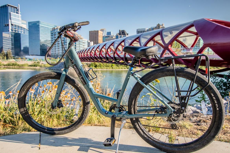 Hotel Arts Kensington in Calgary, Alberta lends out bikes