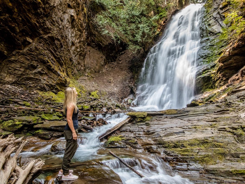 Fletcher Falls near Kaslo BC