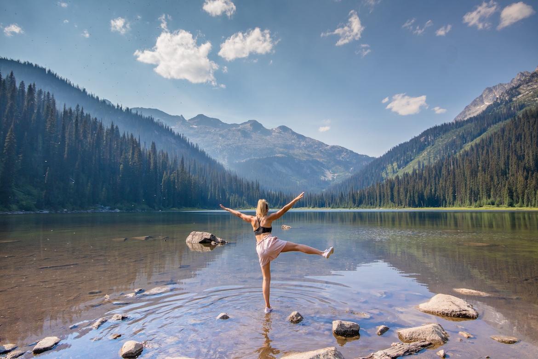Gibson Lake in Kokanee Glacier Provincial Park. Kootenays BC