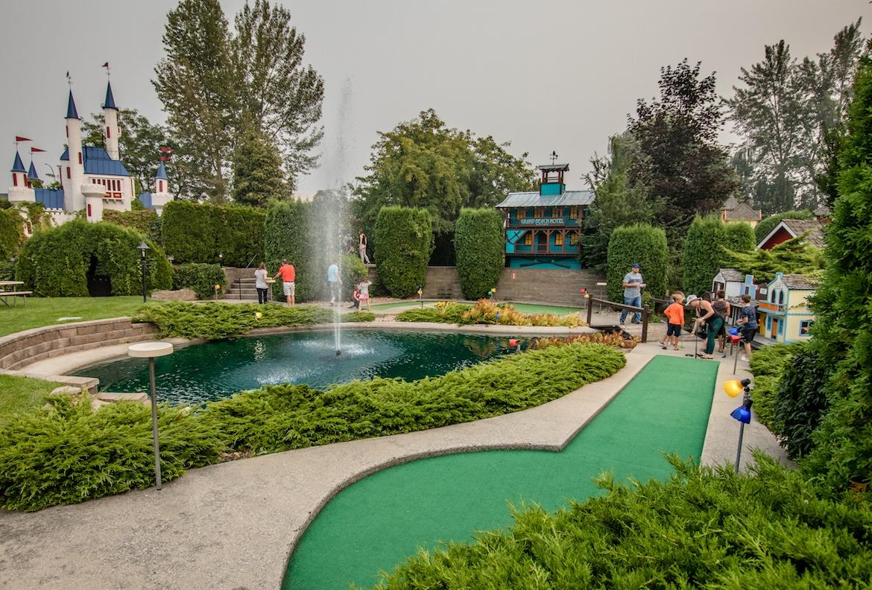 Scandia golf in Kelowna, B.C.
