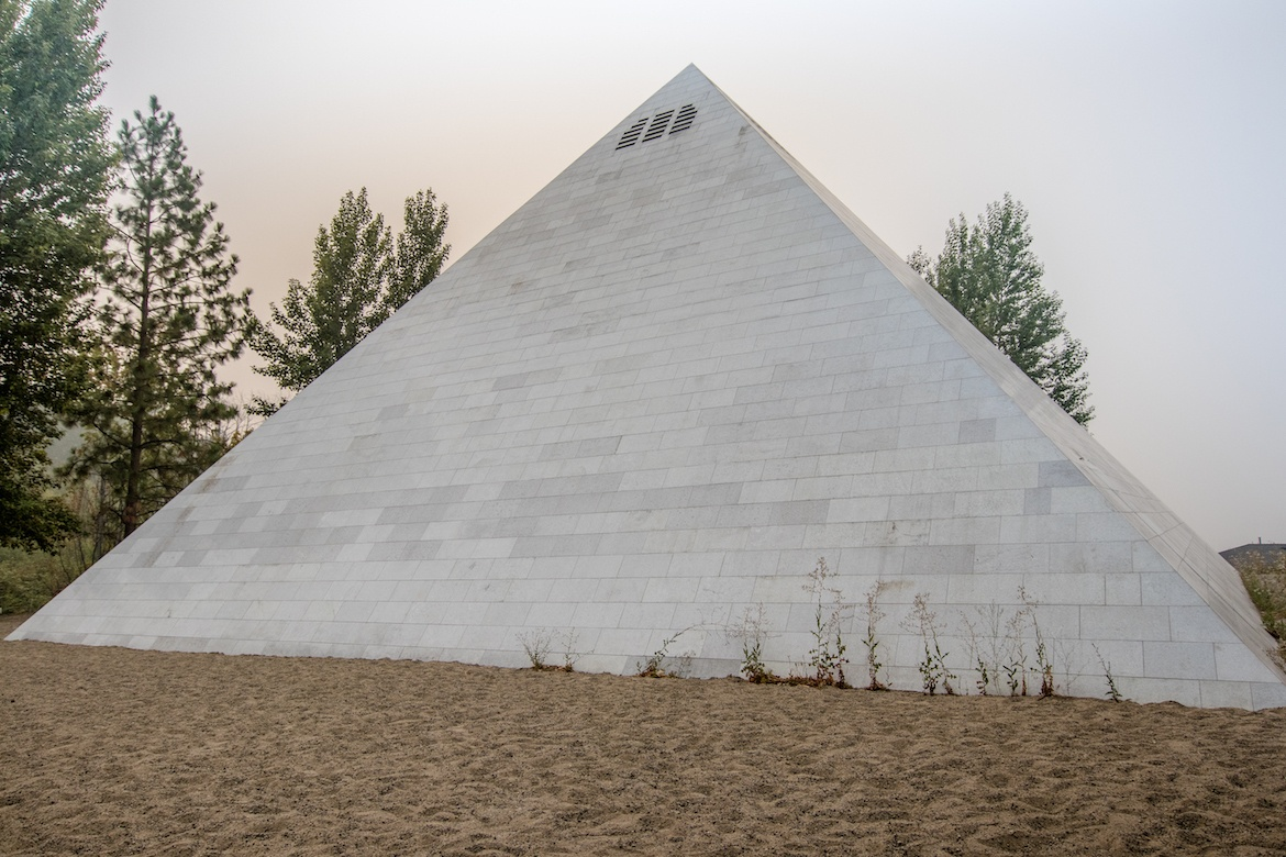 The pyramid at Summerhill Pyramid Winery in Kelowna, B.C.