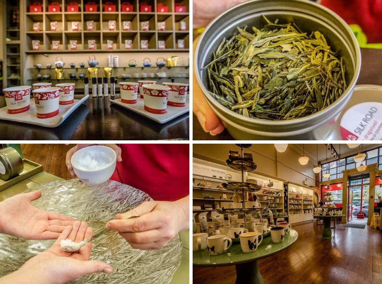Silk Road Aromatherapy & Tea Company in Victoria, B.C.