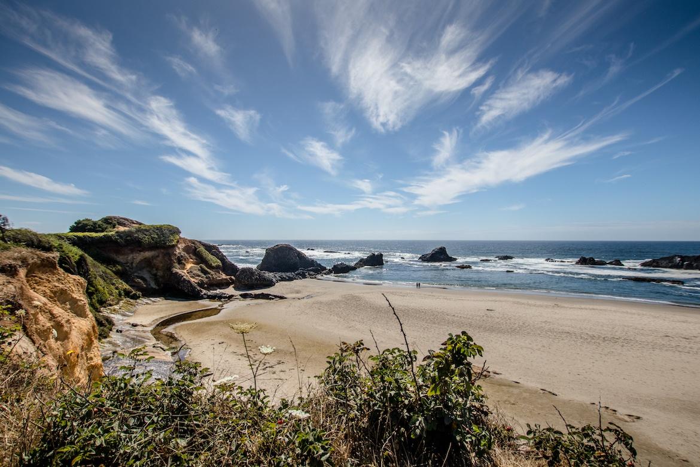 Moolack Beach, Oregon coast road trip