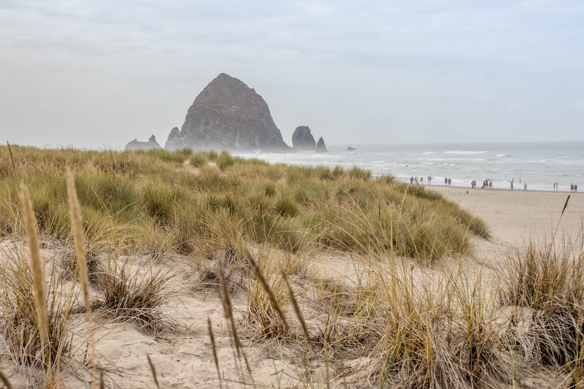 Cannon Beach, Oregon coast road trip