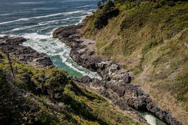 Devils Churn, Oregon coast road trip