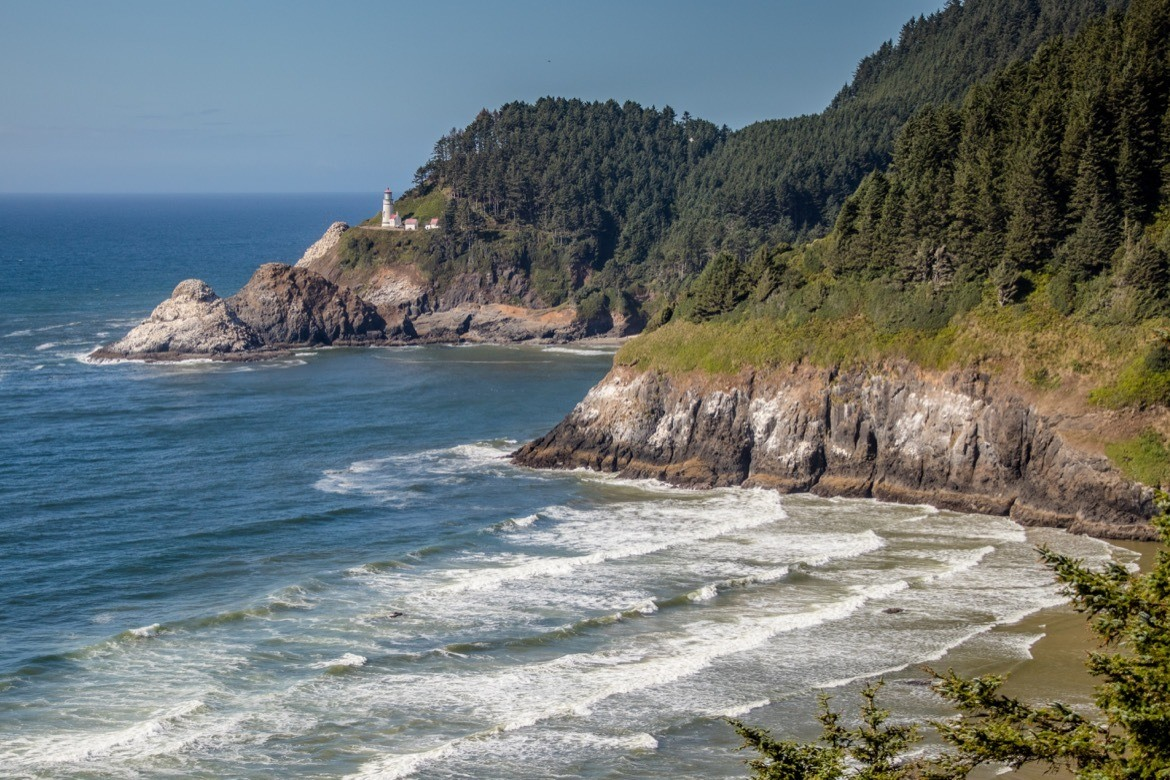 Heceta Head Lighthouse, Oregon Coast road trip