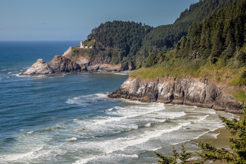 Heceta Head Lighthouse, Oregon Coast road trip
