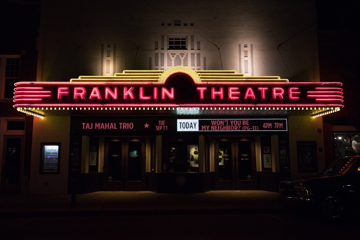 Things to do in Franklin TN- Franklin Theatre