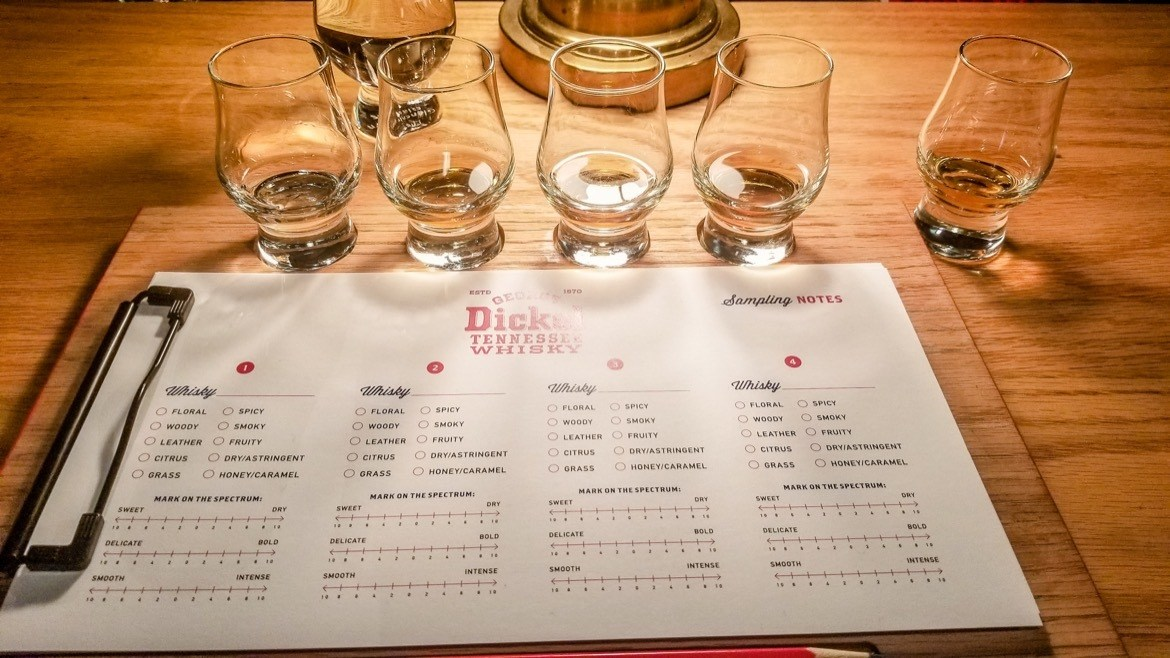 George Dickel Distillery, along the Tennessee Whiskey Trail