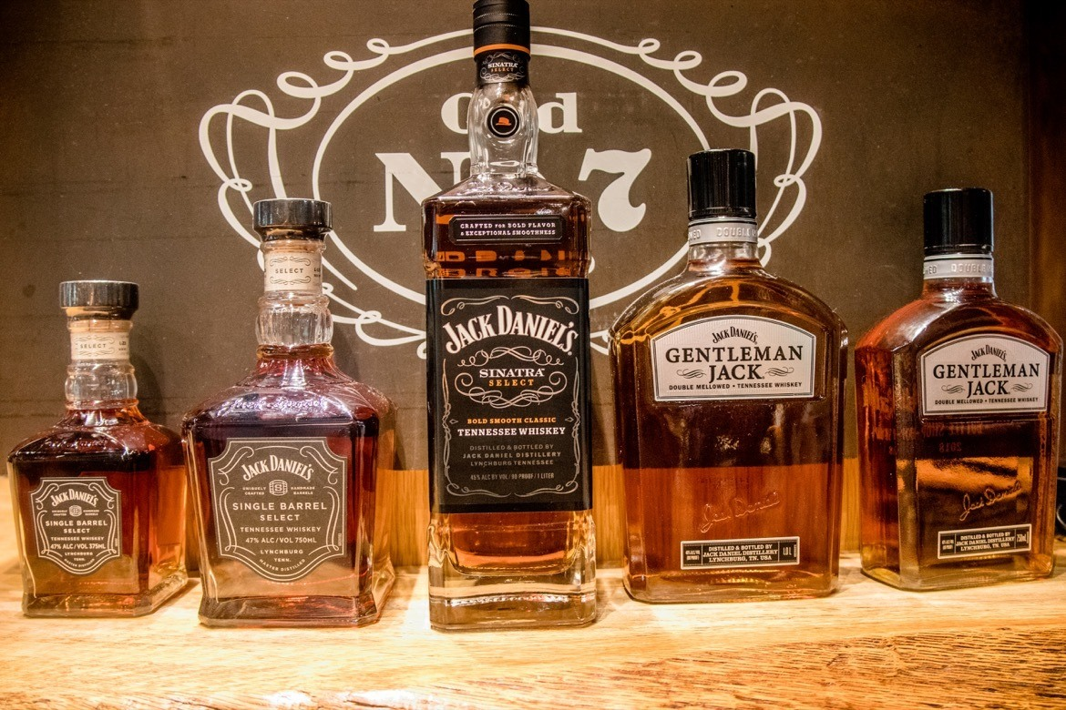 Jack Daniels Distillery, along the Tennessee Whiskey Trail