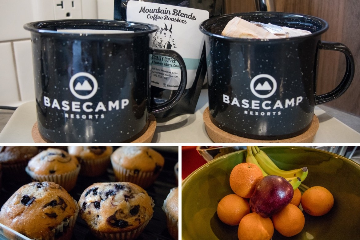 Breakfast at Basecamp Resorts in Canmore
