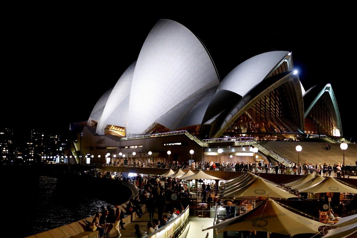 The Sydney Opera House.The best things to do in Sydney Australia