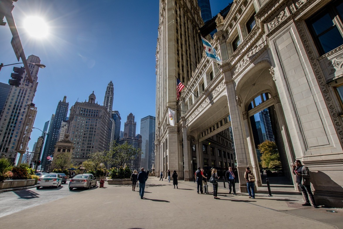 The Magnificent Mile. The perfect two day Chicago itinerary to hit the best photography spots
