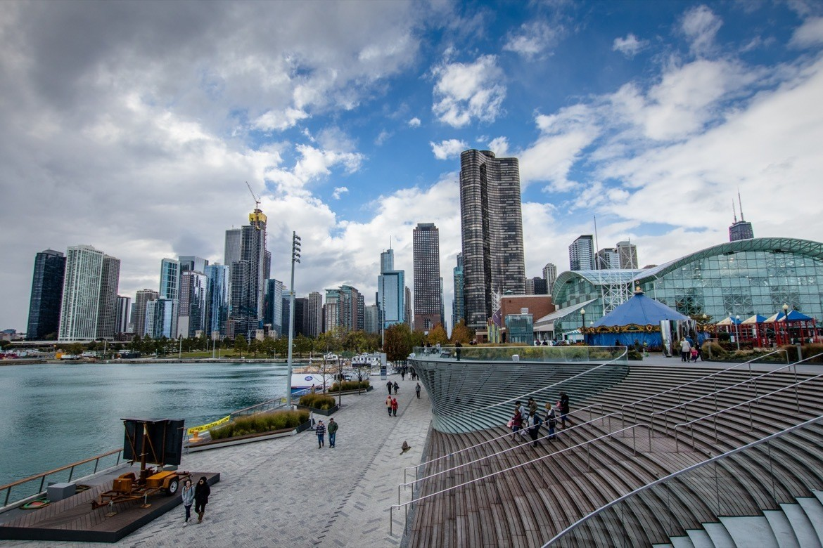 Navy Pier. The perfect two day Chicago itinerary to hit the best photography spots