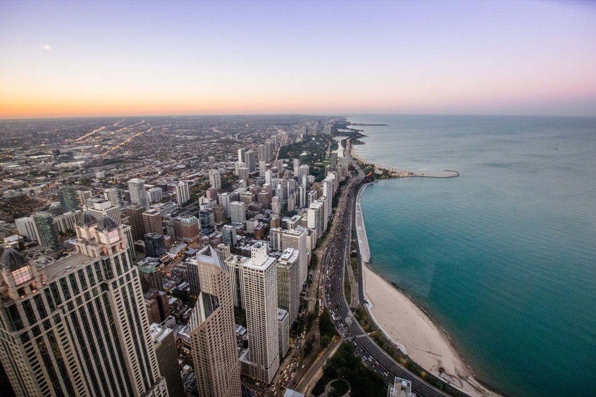 The view from Signature on 95th in Chicago