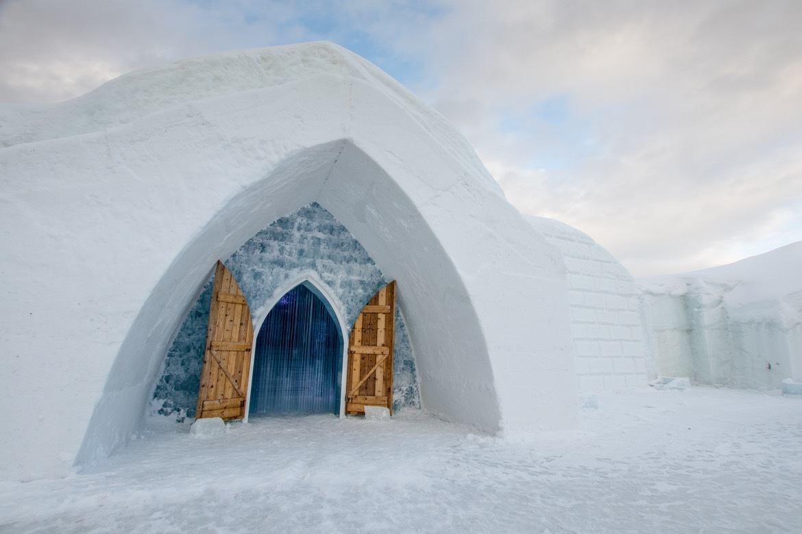 Hotel de Glace, the Quebec ice hotel