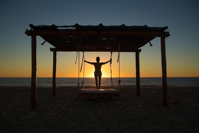 El Faro Beach Club, Baja beaches in Baja California Sur, Mexico