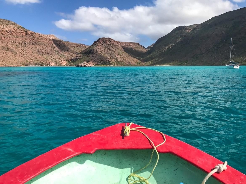 El Candelero Bay, Baja beaches in Baja California Sur, Mexico