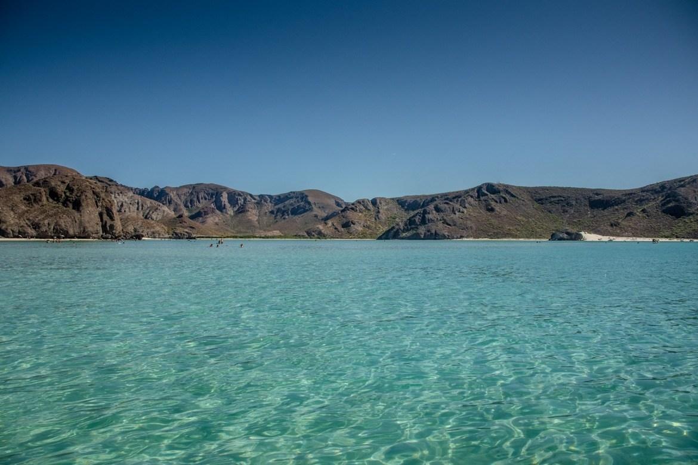 Corolito Bay, Baja beaches in Baja California Sur, Mexico