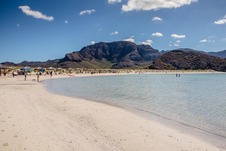 Balandra Bay, Baja beaches in Baja California Sur, Mexico