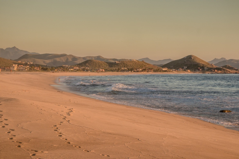 San Pedrito, Baja beaches in Baja California Sur, Mexico