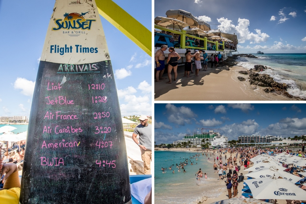 Maho Beach Sunset Beach Bar in St Maarten