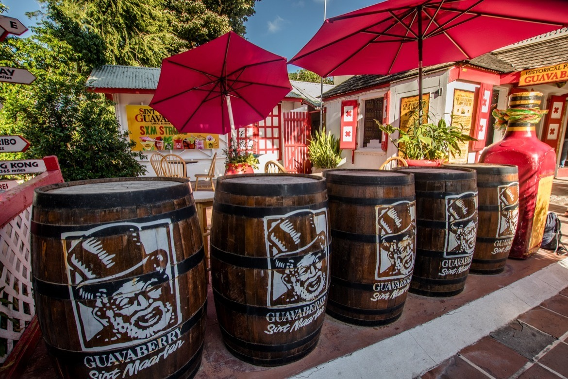 Visiting the Guavaberry Emporium in Philipsburg is one of the top things to do in St. Maarten