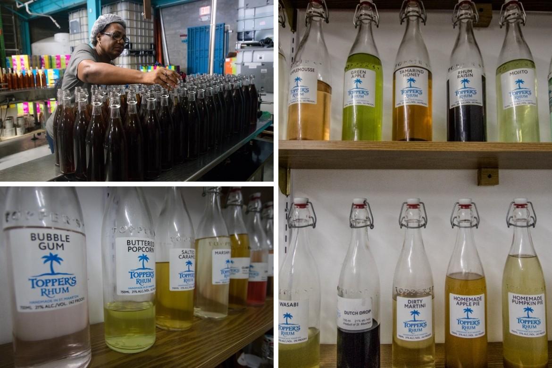 Topper's Rhum in St. Maarten, distillery tour
