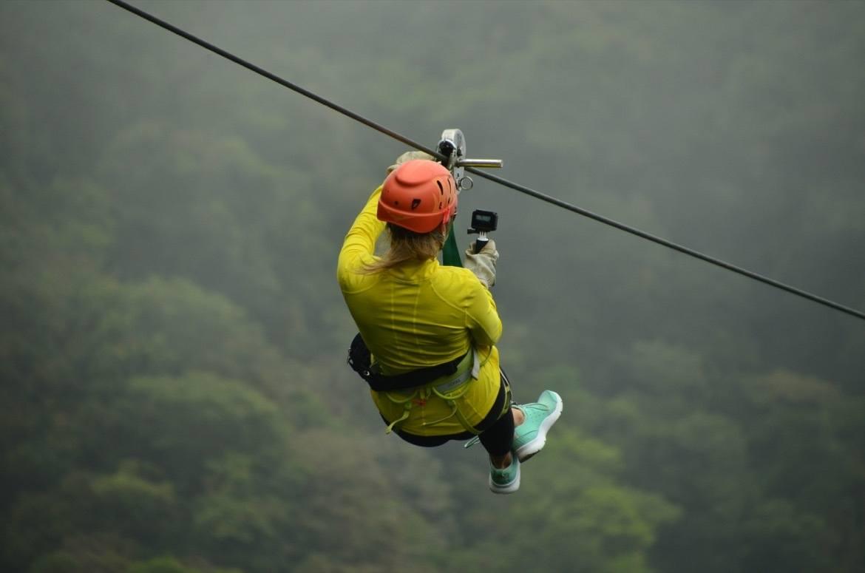 Sky Trek Costa Rica in the Monteverde cloud forest