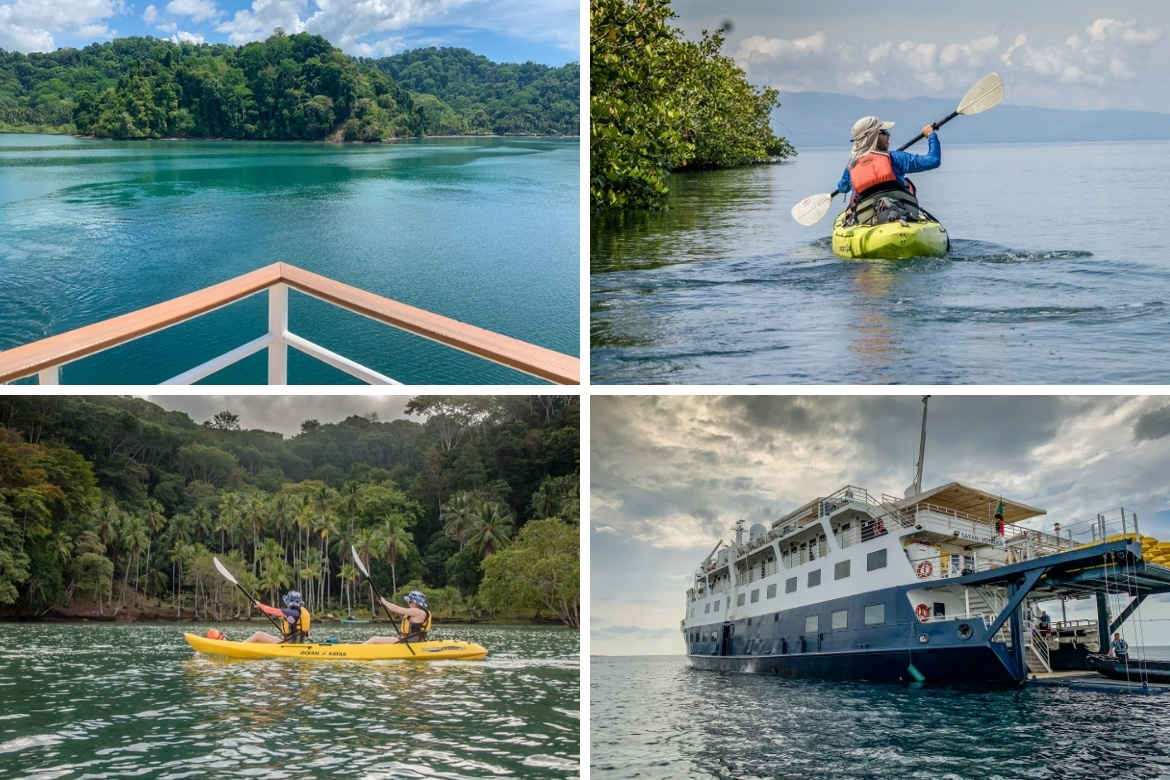 The Saladero Rainforest in Costa Rica with UnCruise Adventrures