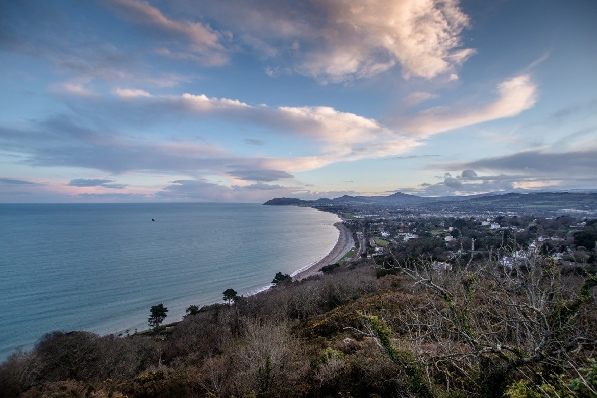 Killiney Hill in Dublin, Ireland
