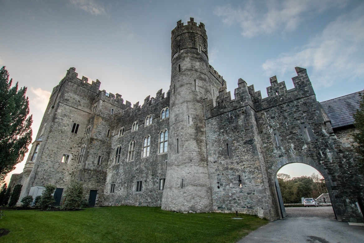 Kilkea Castle, Irish castle hotel