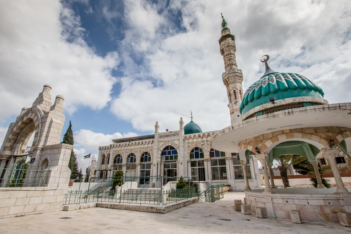 A mosque in Amman, Jordan