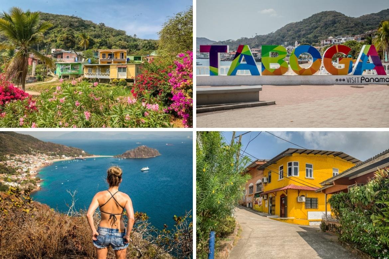 The island of Taboga, Panama