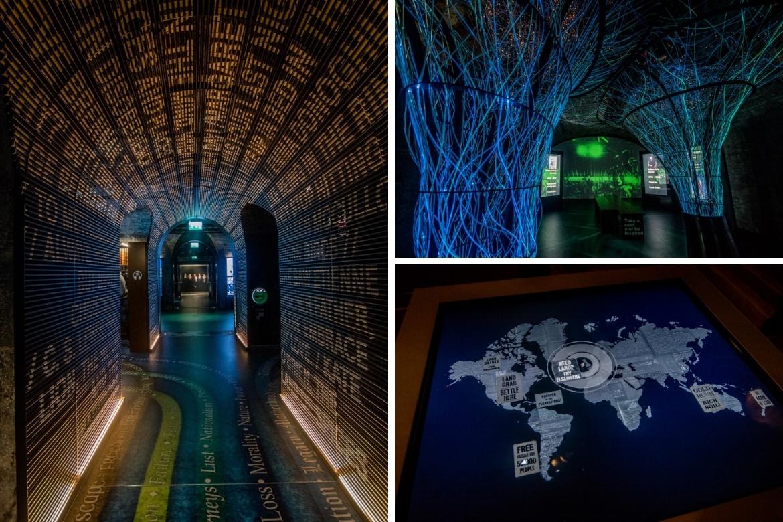 The EPIC Museum in Dublin, Ireland