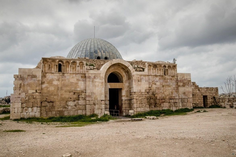 The Byzantine Church at the Citadel in Amman, Jordan