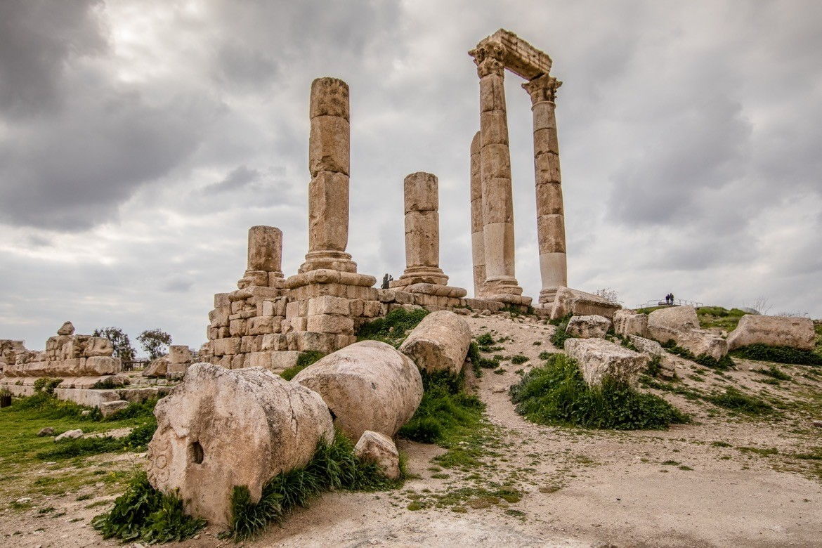 Visiting The Citadel is one of the best things to do in Amman, Jordan