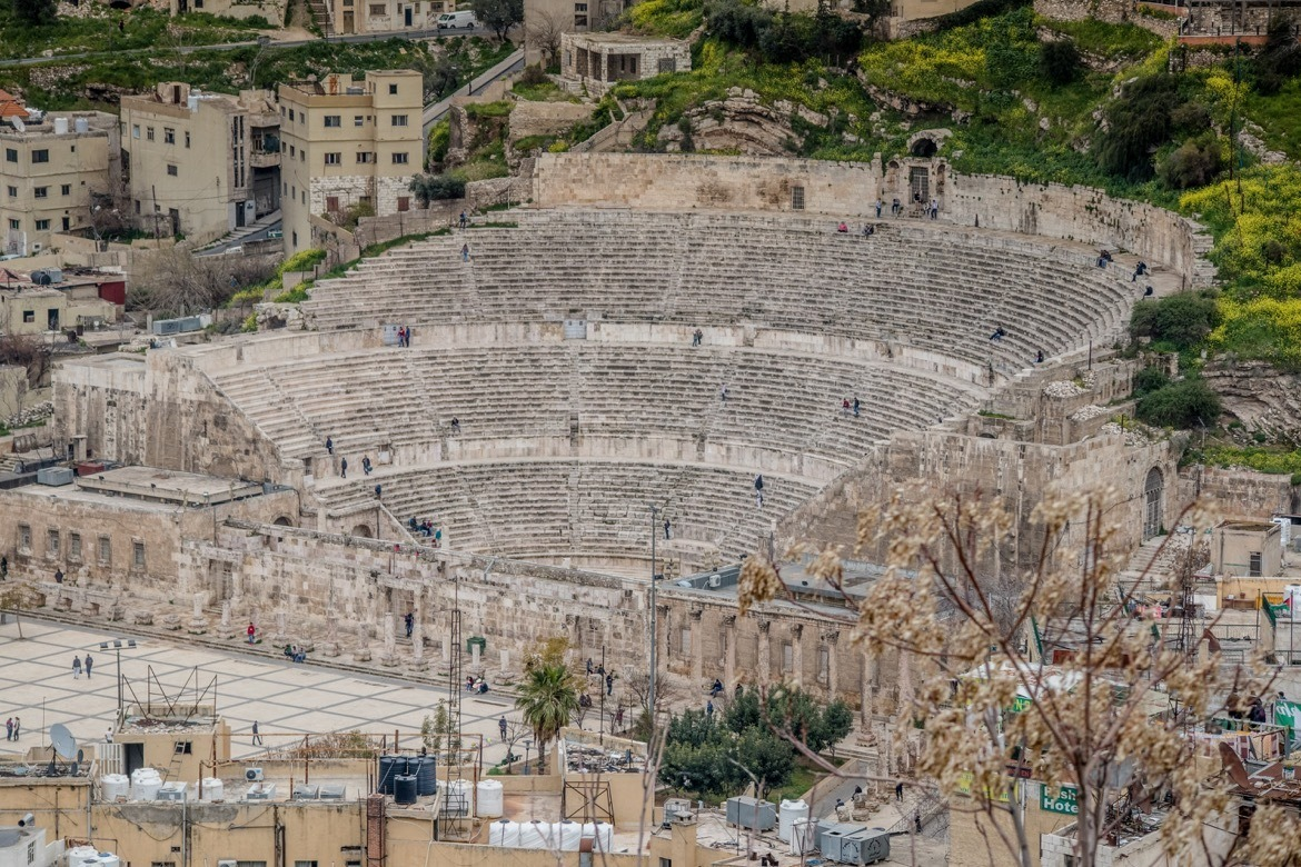 The Roman Theatre is one of the top things to see in Amman, Jordan