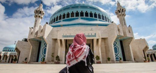 The King Abdullah I Mosque is one of the top things to do in Jordan, Amman