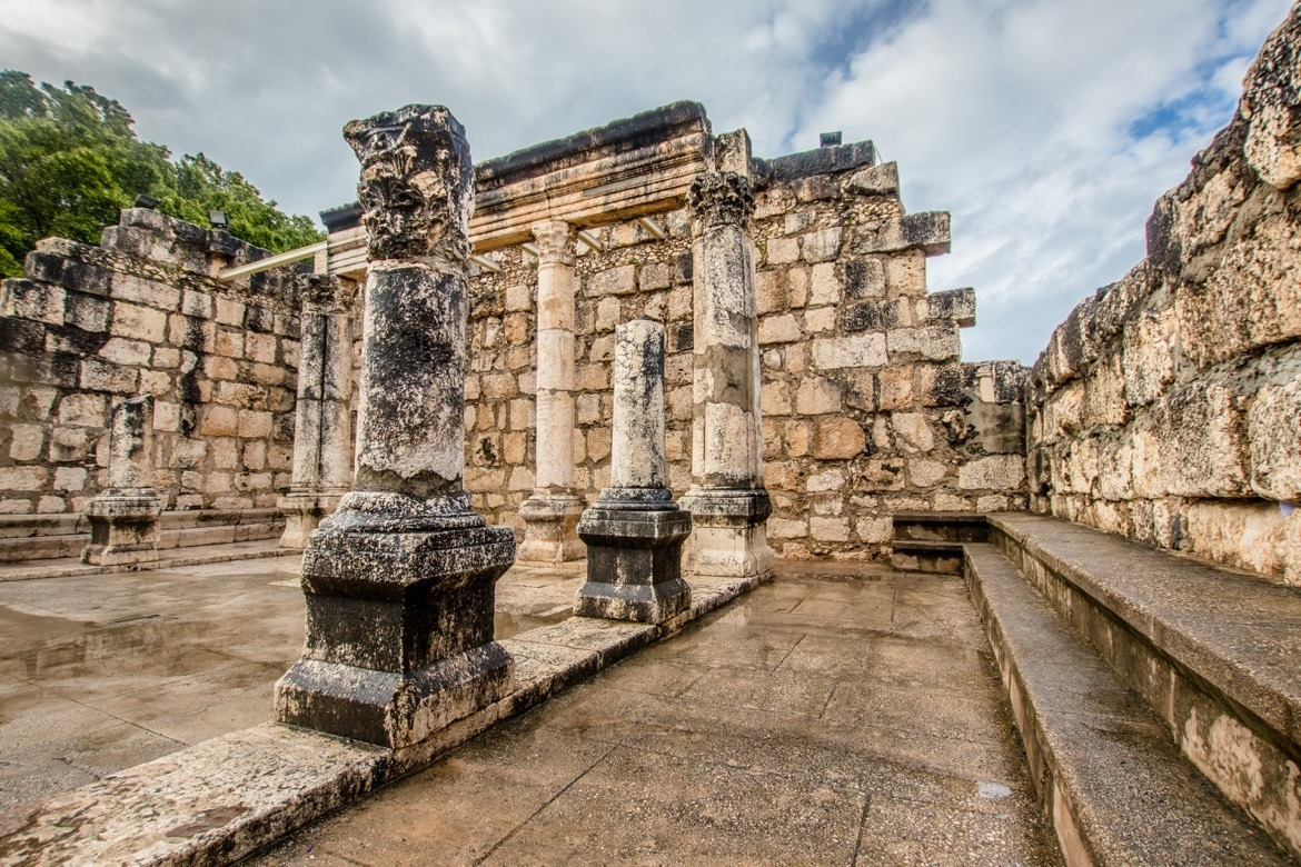 Capernaum is one of the best day trips from Tel Aviv, Israel