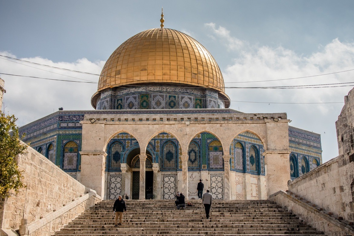 The Dome of the Rock in Jerusalem, Isreal