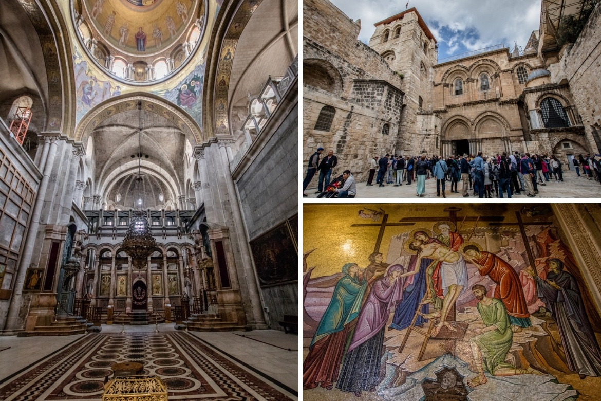 The Church of the Holy Sepulchre in Jerusalem, Israel
