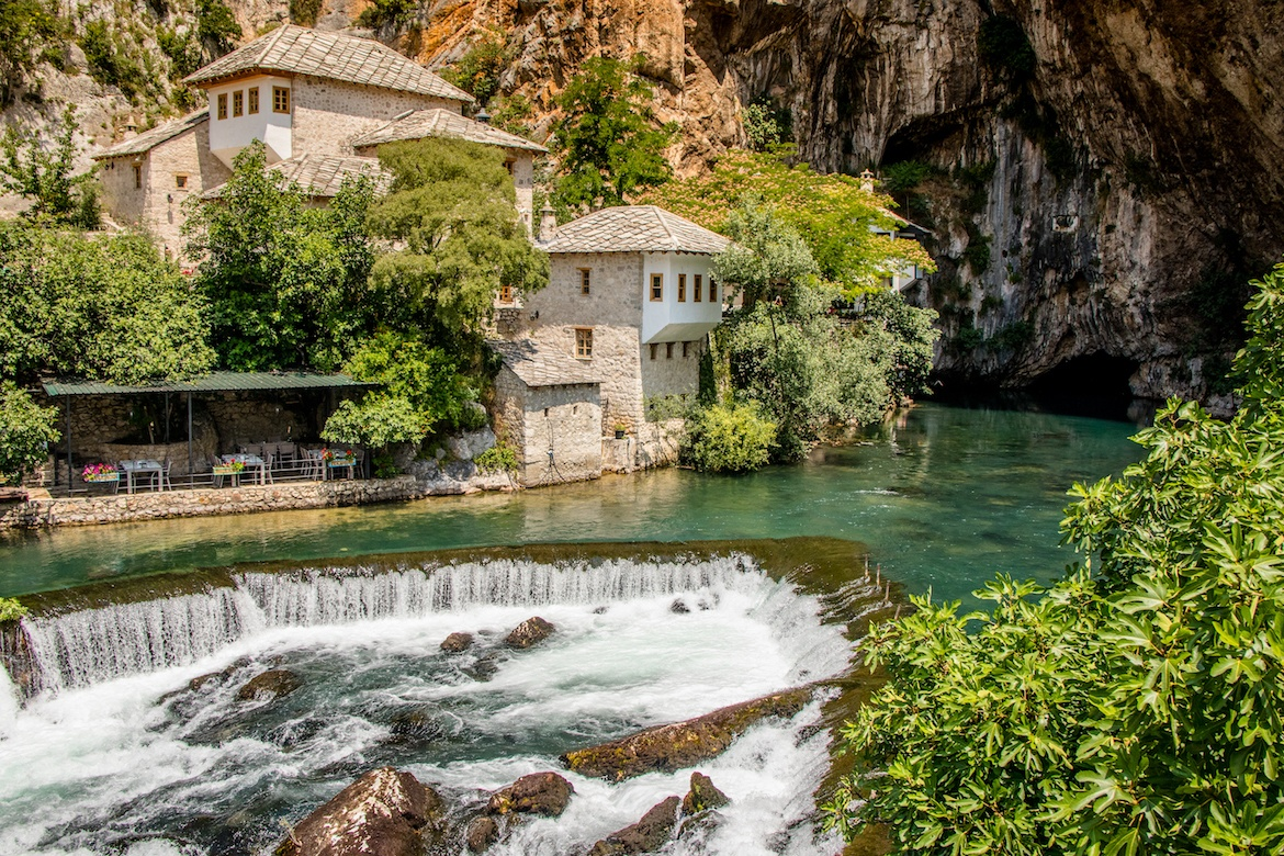 Blagaj Tekija in Bosnia is the perfect Mostar day trip