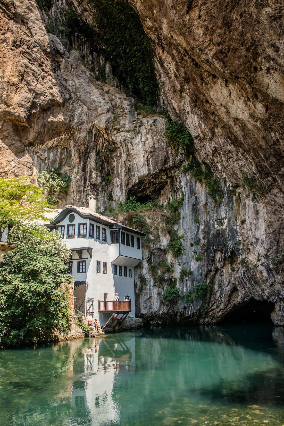 Blagaj house in Bosnia