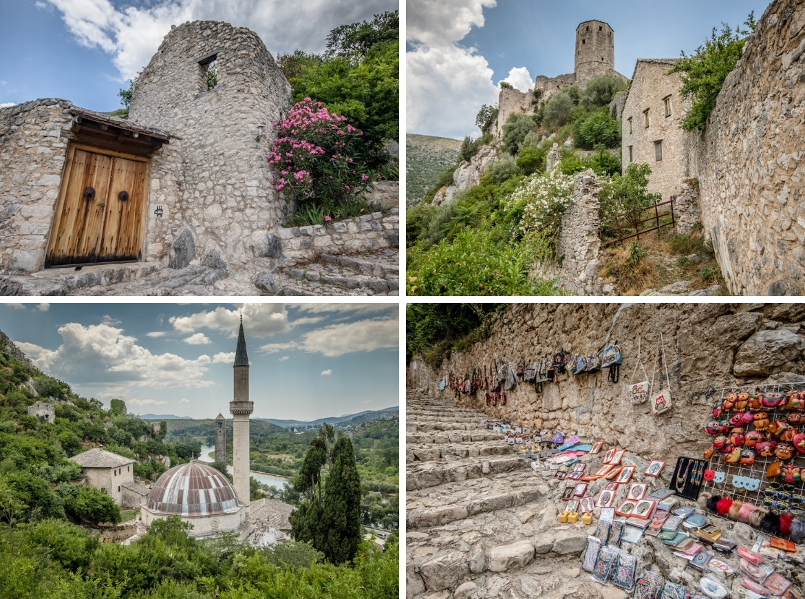 Pocitelj is a popular Mostar day trip