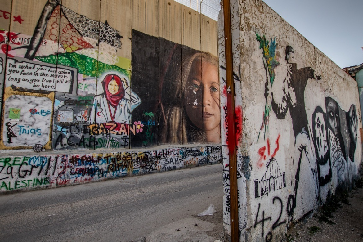 The separation wall in Palestine