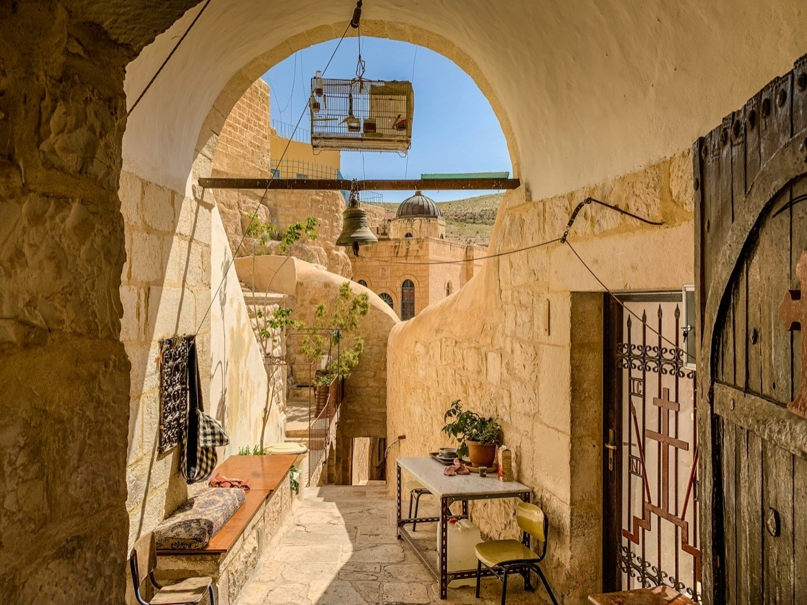 Visiting Mar Saba Monastery is one of the things to do in Palestine