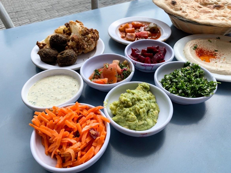 Food in Tel Aviv, Israel