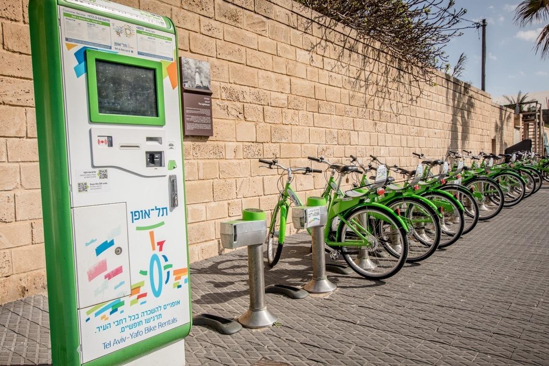 Bike rentals in Tel Aviv, Israel
